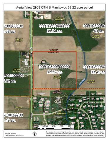 2903 County Rd B, Manitowoc, WI 54220 (#1764321) :: Dallaire Realty