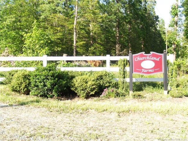 Lot 3 Churchland Farms Road, Lanexa, VA 23089 (#1630142) :: Abbitt Realty Co.