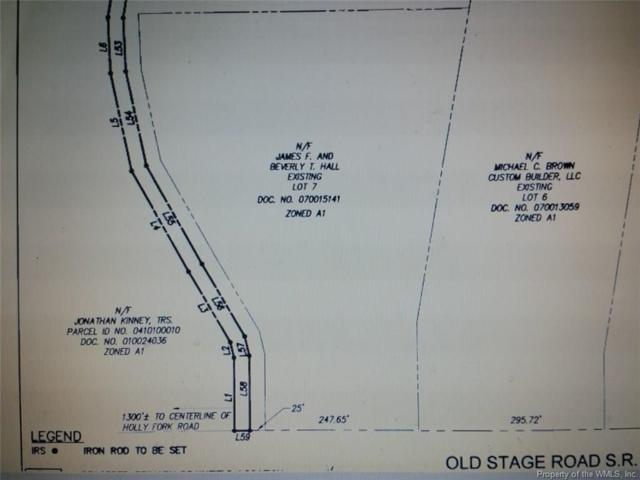 10063 Old Stage Road, Toano, VA 23168 (#1728934) :: Abbitt Realty Co.