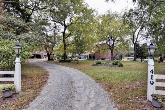419 Bull Creek Drive, Lancaster, VA 22503 (#1833189) :: Abbitt Realty Co.