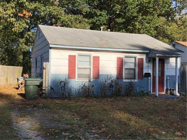 426 Ford Road, Hampton, VA 23663 (#1833333) :: Abbitt Realty Co.