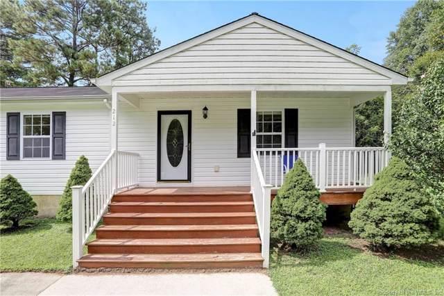 212 Louise Lane, Toano, VA 23168 (MLS #1903437) :: Chantel Ray Real Estate