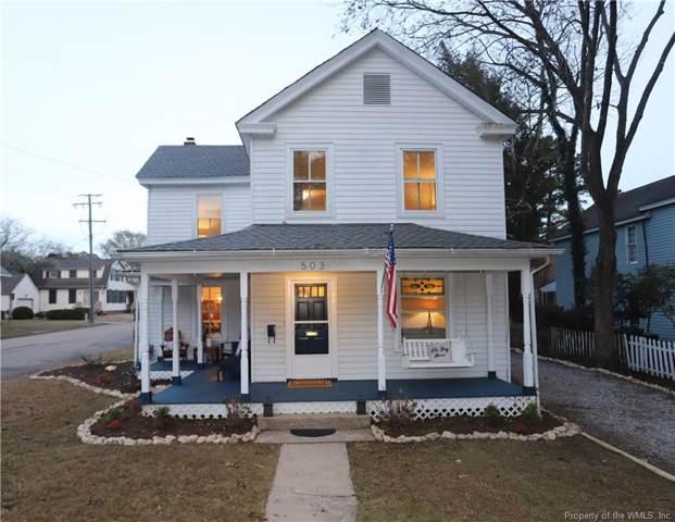503 Tyler Street, Williamsburg, VA 23185 (MLS #1904698) :: Howard Hanna
