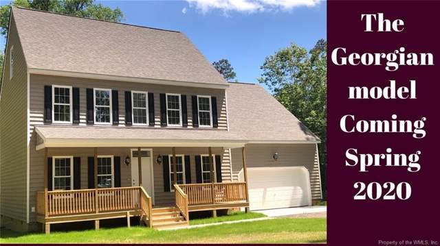168 Bush Springs Road, Toano, VA 23168 (MLS #2000115) :: Chantel Ray Real Estate