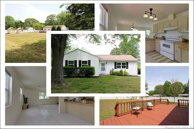 122 Old Stage Road, Toano, VA 23168 (MLS #2001664) :: Chantel Ray Real Estate
