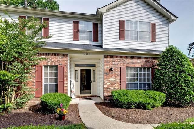2269 Claymill Drive, Newport News, VA 23602 (#2101863) :: Abbitt Realty Co.