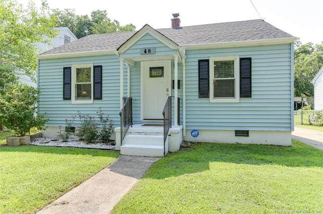 48 W Little Back River Road, Hampton, VA 23669 (#2103171) :: The Bell Tower Real Estate Team