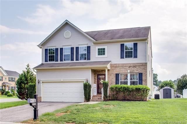 3491 Frederick Drive, Toano, VA 23168 (MLS #2103210) :: Howard Hanna Real Estate Services