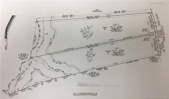 Moody Lot 1 & 2 Stage Road, New Kent, VA 23089 (#1901119) :: Abbitt Realty Co.