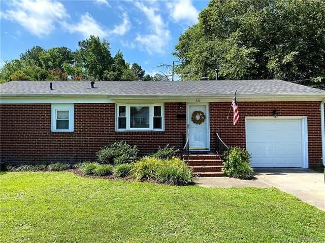 524 Deep Creek Road, Newport News, VA 23606 (MLS #2102738) :: Howard Hanna Real Estate Services