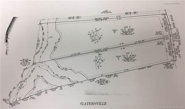 Moody Lot 1 & 2 Stage Road, New Kent, VA 23089 (MLS #1901119) :: Chantel Ray Real Estate