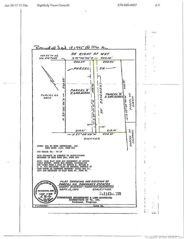 00A Arrowhead Road, Hanover, VA 23069 (#1723151) :: Abbitt Realty Co.