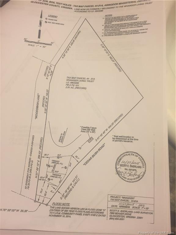 0 Woodsman Lane, Gloucester, VA 23072 (MLS #1902050) :: Chantel Ray Real Estate