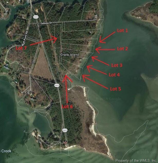 Lot 3 Galway Drive, Kilmarnock, VA 22482 (MLS #1902810) :: Chantel Ray Real Estate