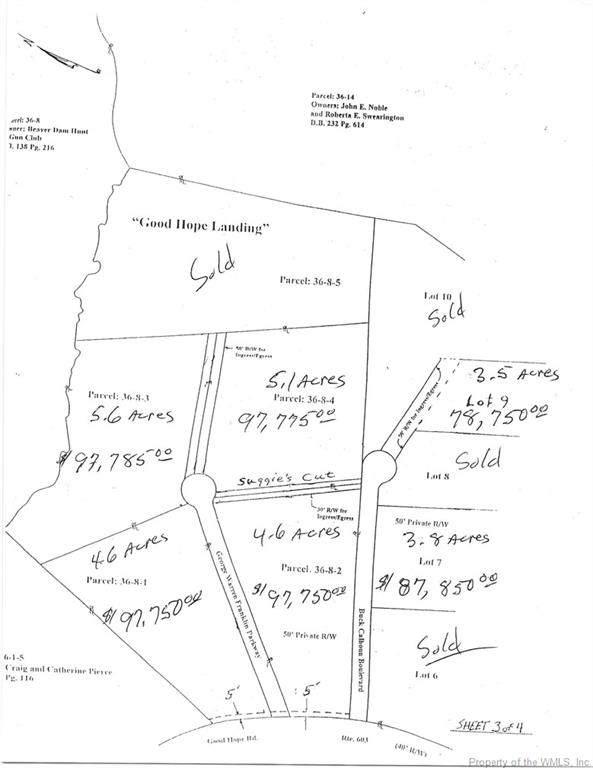0 Buck Calhoun, Lanexa, VA 23089 (#1903920) :: The Bell Tower Real Estate Team
