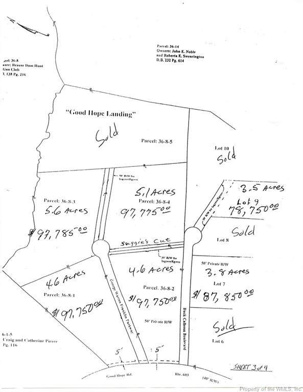 0 George Warren Franklin, Lanexa, VA 23089 (#2002349) :: The Bell Tower Real Estate Team