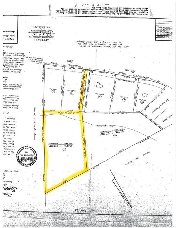 Lot 7 Indian Road, Gloucester, VA 23061 (#2100909) :: The Bell Tower Real Estate Team