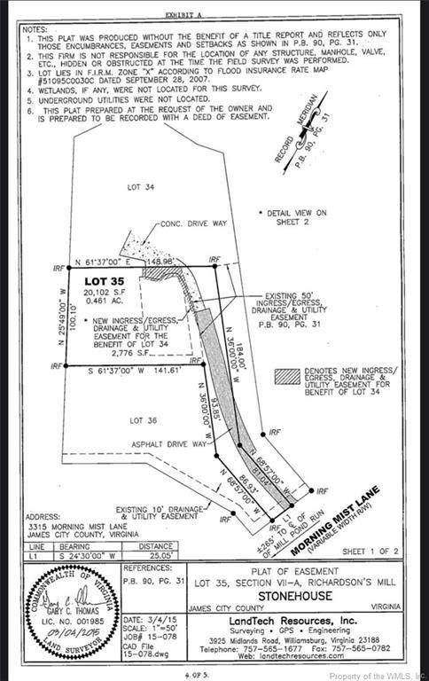 3309 Morning Mist Lane, Toano, VA 23168 (MLS #2103037) :: Howard Hanna Real Estate Services
