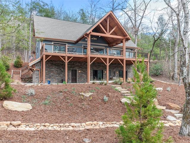 134 Chapel Point Road, Lake Lure, NC 28746 (MLS #3254317) :: Washburn Real Estate