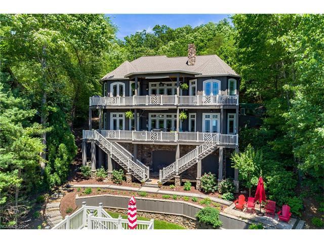 255 Deerwood Drive, Lake Lure, NC 28746 (MLS #3283633) :: Washburn Real Estate