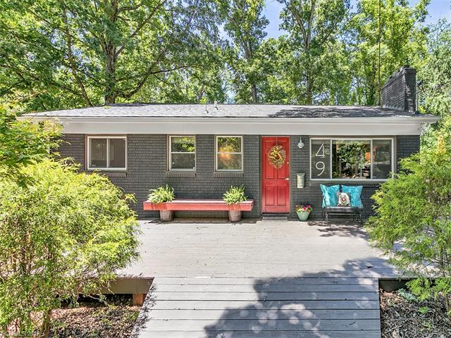 49 Westover Drive, Asheville, NC 28801 (#3291181) :: Rowena Patton's All-Star Powerhouse @ Keller Williams Professionals