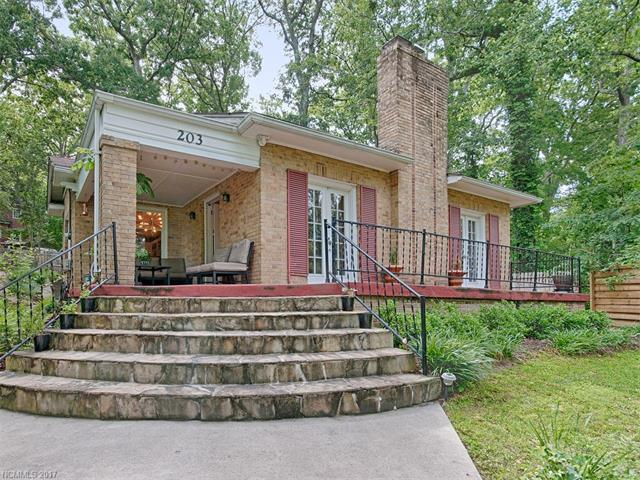203 Westover Drive, Asheville, NC 28801 (#3291722) :: Rowena Patton's All-Star Powerhouse @ Keller Williams Professionals