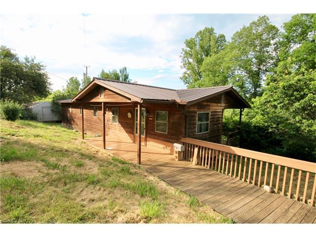 319-321 Sheppard Branch Road, Weaverville, NC 28787 (#3297166) :: Team Browne - Keller Williams Professionals Realty