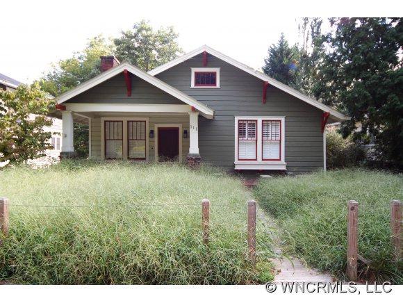 111 Flint Street, Asheville, NC 28801 (#NCM525532) :: Exit Realty Vistas