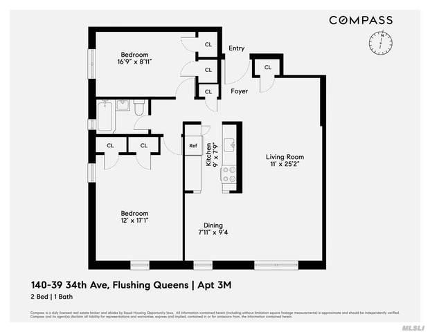 140-39 34th Ave. 3M, Flushing, NY 11354 (MLS #3259515) :: Nicole Burke, MBA   Charles Rutenberg Realty