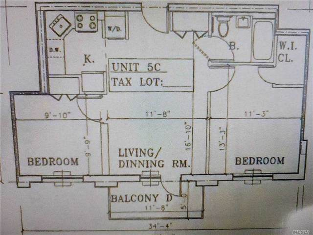43-73 Union Street 5C, Flushing, NY 11355 (MLS #3281983) :: Mark Boyland Real Estate Team