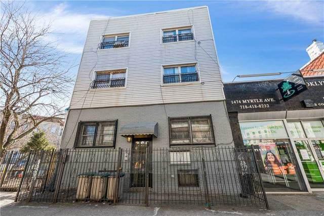 1476 Myrtle Avenue, Bushwick, NY 11237 (MLS #3292323) :: Frank Schiavone with William Raveis Real Estate