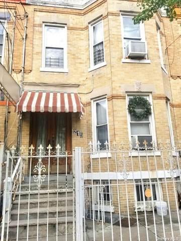 215 Logan Street, Cypress Hills, NY 11208 (MLS #3302250) :: Barbara Carter Team