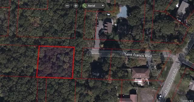 Saint Francis Boulevard, Middle Island, NY 11953 (MLS #3305714) :: Signature Premier Properties