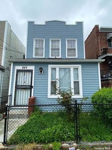 849 E 229th Street, Bronx, NY 10466 (MLS #3309802) :: Cronin & Company Real Estate