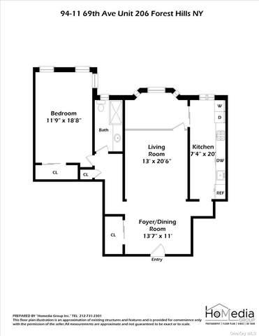 94-11 69 Avenue #206, Forest Hills, NY 11375 (MLS #3323593) :: Carollo Real Estate