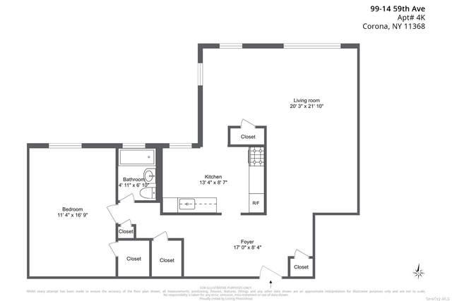 99-14 59th Avenue 4K, Corona, NY 11368 (MLS #3349033) :: Goldstar Premier Properties