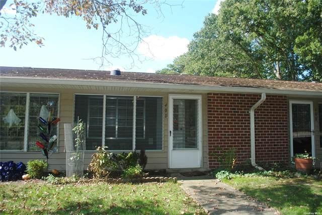 40D Trent Court #55, Ridge, NY 11961 (MLS #3353009) :: Cronin & Company Real Estate