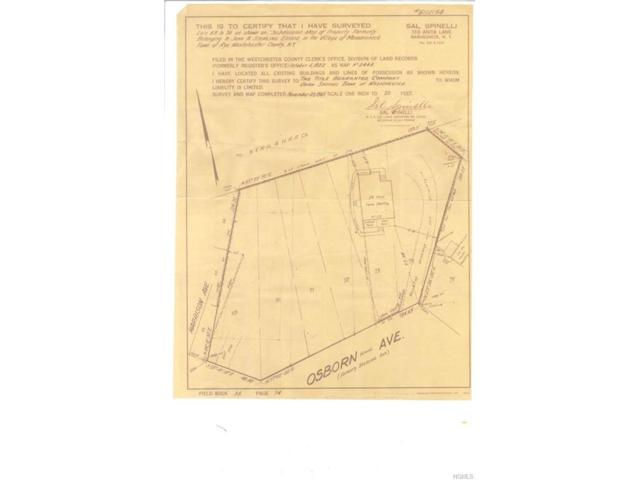 0 Osborn Avenue, Mamaroneck, NY 10543 (MLS #4803554) :: Michael Edmond Team at Keller Williams NY Realty