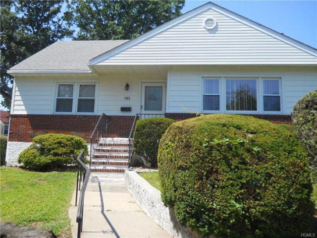 193 Vredenburgh Avenue, Yonkers, NY 10704 (MLS #4822830) :: Stevens Realty Group