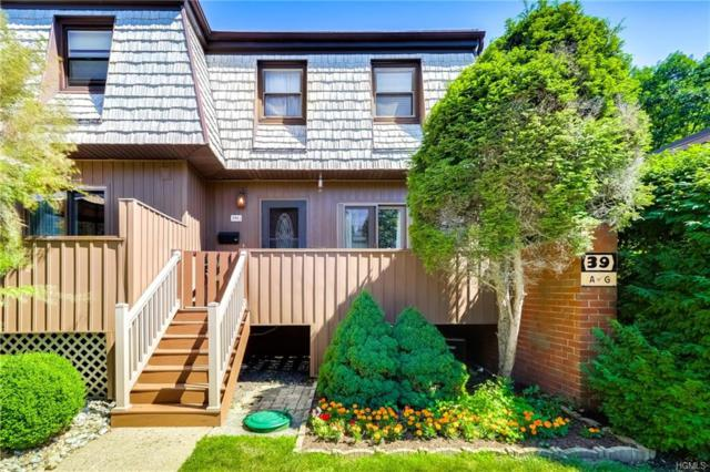 39 Heritage Drive G, New City, NY 10956 (MLS #4829812) :: Stevens Realty Group