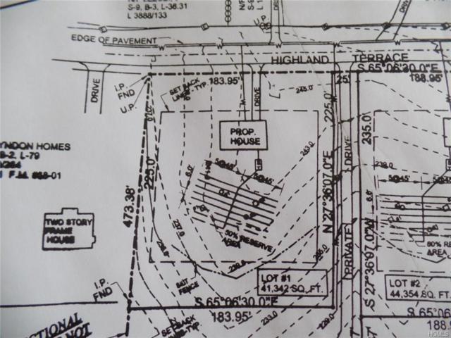 50 Highland Terrace Terrace, Newburgh, NY 12550 (MLS #4846336) :: Mark Boyland Real Estate Team
