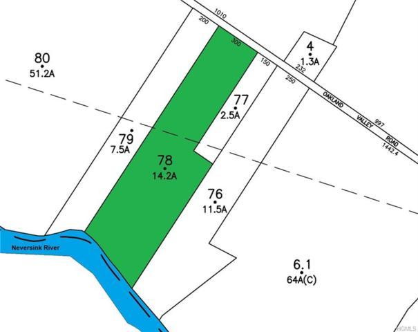 36 Oakland Valley Road, Cuddebackville, NY 12729 (MLS #4848464) :: William Raveis Baer & McIntosh