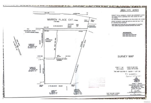 3 Warren Place, Port Jervis, NY 12771 (MLS #4904039) :: William Raveis Baer & McIntosh