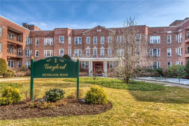 2 Overlook Road 1A5, White Plains, NY 10605 (MLS #4909545) :: Shares of New York