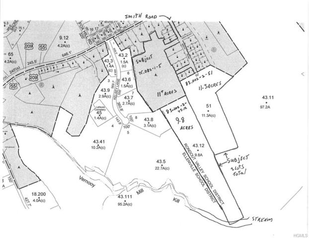 Smith Road, Wawarsing, NY 12428 (MLS #4914885) :: Mark Seiden Real Estate Team