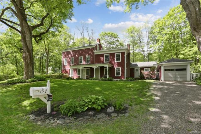 81 Old Bulls Head Road, Clinton Corners, NY 12514 (MLS #4936649) :: Marciano Team at Keller Williams NY Realty