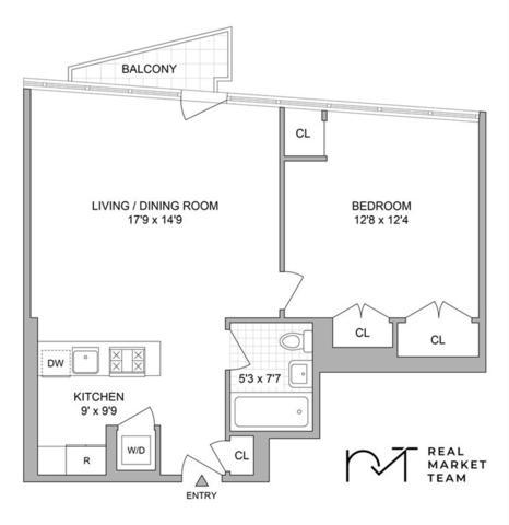 5-19 Borden Avenue 6F, New York, NY 11101 (MLS #4939333) :: Mark Boyland Real Estate Team