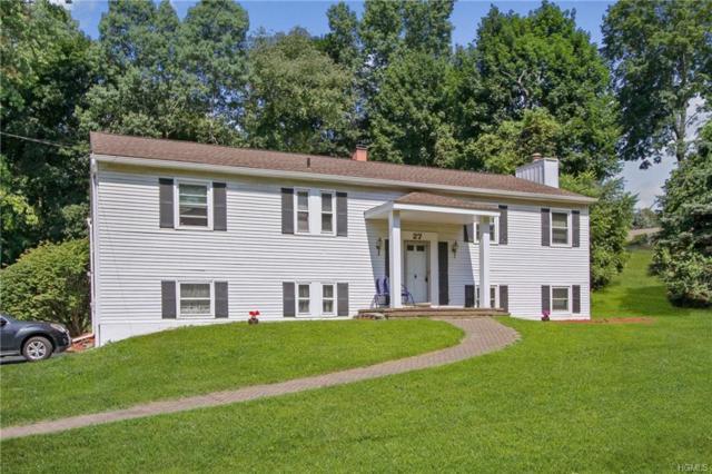 27 Tanglewood Drive, Wappingers Falls, NY 12590 (MLS #5013935) :: Mark Boyland Real Estate Team