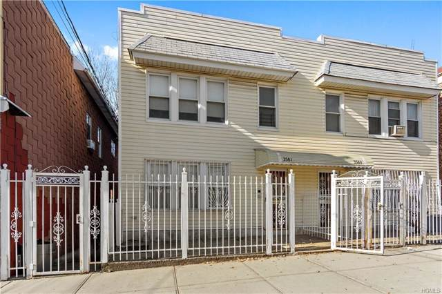 3561 Holland Avenue, Bronx, NY 10467 (MLS #6005807) :: William Raveis Legends Realty Group