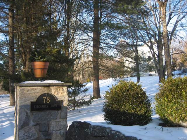 78 Kitchawan Road, Pound Ridge, NY 10576 (MLS #6006598) :: William Raveis Legends Realty Group
